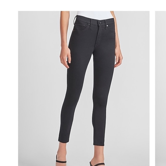 Express black ankle skinny jeans/ jeggings